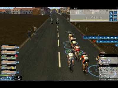Pro Cycling Manager 2009 - Sprint (tutorial) [Eng]