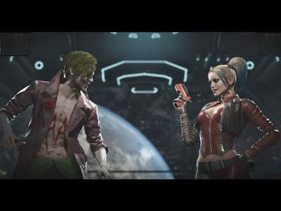 Injustice 2 Legendary Edition || The Joker VS Harley Quinn || Gameplay