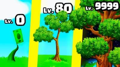 I grew a TRILLION DOLLAR Money Tree!