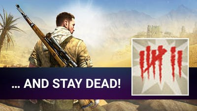 [Road to 100%] Sniper Elite 3 - … And stay dead! - Achievement Walkthrough