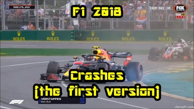 F1 2018 Crashes(the first version)