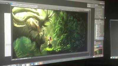 Eon Altar Dev Blog: Muran the Battlemage Part 1: Concept Art
