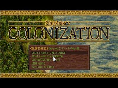 Sid Meier's Colonization (1994) English Play Through: Episode 1
