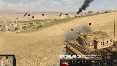 Theatre of War 2 Africa 1943 - Tiger vs M4 Sherman Gameplay