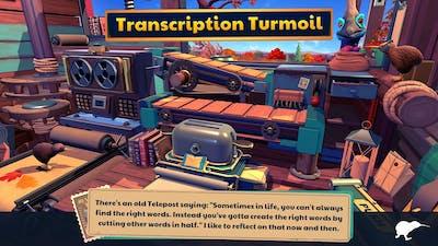 KeyWe - Fall 2 - Transcription Turmoil