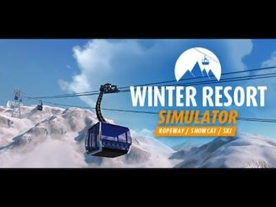 Winter Resort Simulator Tour