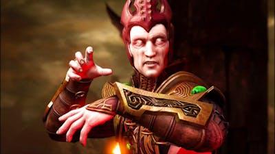 Mortal Kombat X - Shinnok All Interaction Dialogues