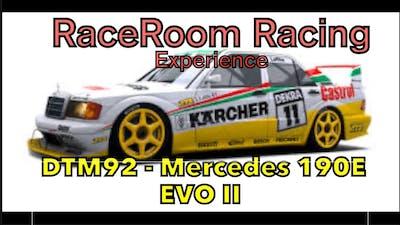 RaceRoom Racing Experience DTM92   Mercedes 190E EVO II  nurburgring
