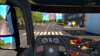 Euro Truck Simulator 2 - Beyond the Baltic Sea - Narva to Pskov | Gameplay (PC HD) [1080p60FPS]