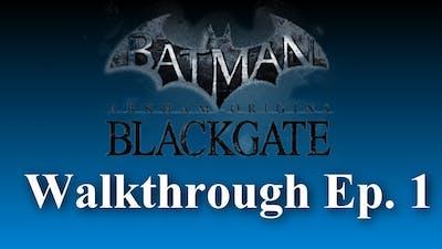 Introduction (Batman: Arkham Origins Blackgate Deluxe Edition Walkthrough) Ep. 1