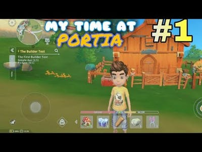 This game is awesome || My time at Portia gameplay part#1 || new game 2021 || my time at Portia