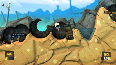 Worms Revolution - Game 14 - Reverse Stack