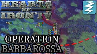 Invade the Soviet Union! Operation Barbarossa Tutorial - Hearts of Iron IV HOI4 Paradox Interactive