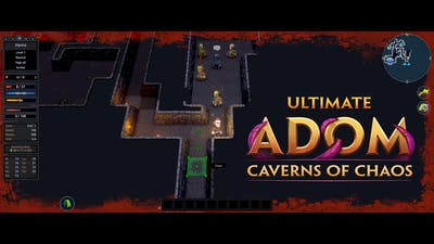 Ultimate ADOM - Caverns of Chaos   RPG   PC Gameplay (3440x1440)