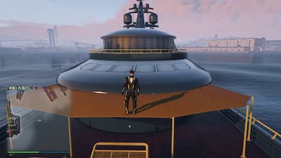 Grand Theft Auto V Yacht Piracy Protection WIP Work