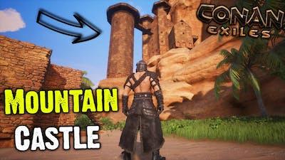 Conan Exiles - Mountain Castle Base Tour (First Ever Base)