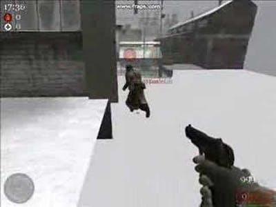 Call of Duty 2 Glitches - Stalingrad, Russia - Bl!mp & Sonic