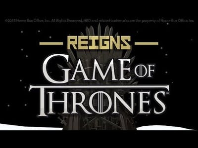 Lets play Reigns:game of thrones: gameplay!!