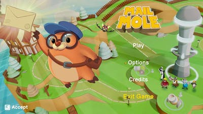 Mail Mole Gameplay PC GAME Early Stage