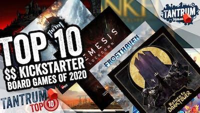 Top 10 $$ Kickstarter Board Games 2020