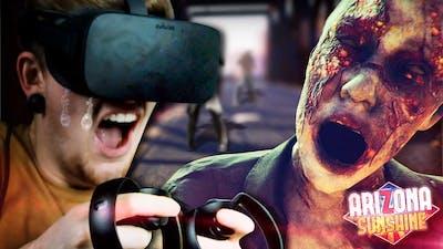 MY SCARIEST GAMING EXPERIENCE. || Arizona Sunshine (Oculus Rift VR)
