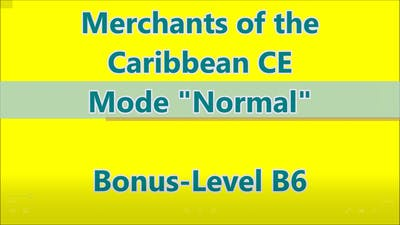 Merchants of the Caribbean CE Bonus-Level B 6