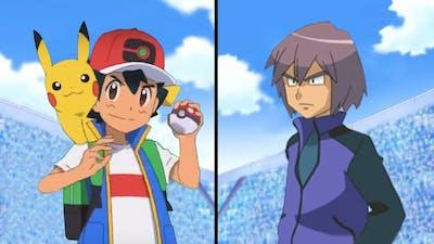 Pokemon Characters Battle: Ash Vs Paul (Ash Ketchum Best Team)