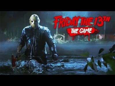 Friday The 13th the game Gameplay (Looking for a way out!)