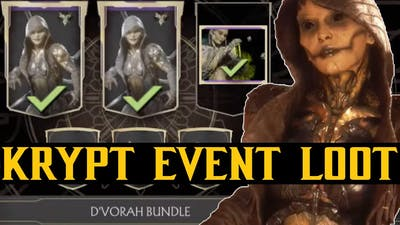 MK11 Season 6 D'vorah KL / Krypt Event Bundle