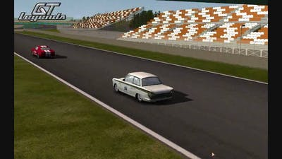 GT Legends race TV view