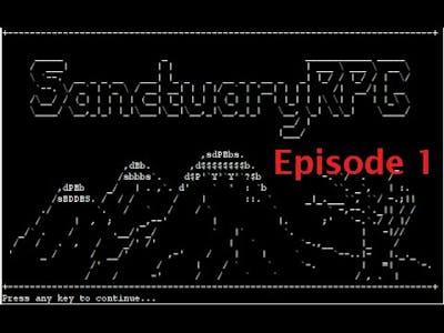 SanctuaryRPG: Black Edition - Episode 1: Dragonlord