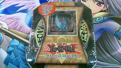 Best Yugioh 2004 Blade Knight Tin Opening Ever!