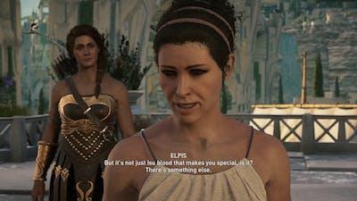 Assassin's Creed Odyssey - Giantess Growth Scene: Elpis / Atlantis DLC