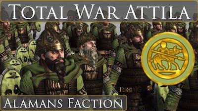 Total War: Attila - The Alamans Faction - Showcase & Overview