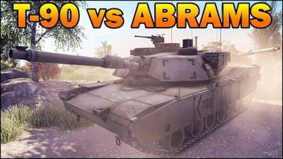 T90 vs ABRAMS - 10 vs 10 - Modern Tanks Battle - Call to Arms - Editor Scenario #10