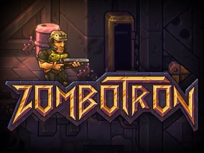 Zombotron   level 2,3 played by game player