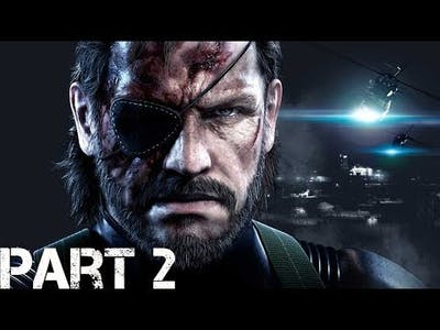 METAL GEAR SOLID V  THE DEFINITIVE EXPERIENCE GROUND ZEROS part 2