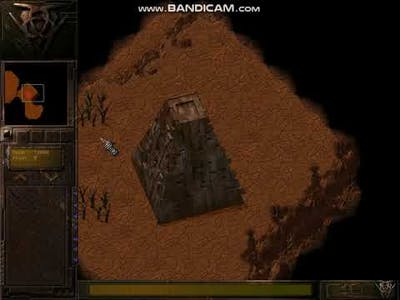 EARTH 2140 RTS on DOSBOX  UCS mission 2: REBUILDING (NO-COMMENTARY)