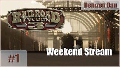 Railroad Tycoon 3 - Gameplay - Weekend Stream - Part 1