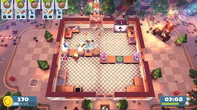 Overcooked! 2 - Campfire Cook Off - World 2-Kevin 2 - 3 Stars