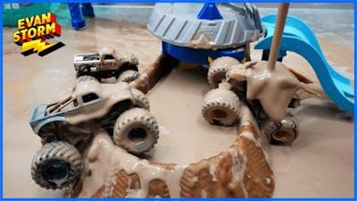 Monster Trucks Mud Racing and Truck Wash