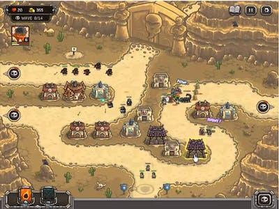 Kingdom Rush Frontiers Nazeru's Gates 3 stars Walkthrough
