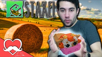 MOST RELAXING GAME EVER? Staxel Gameplay Episode 1