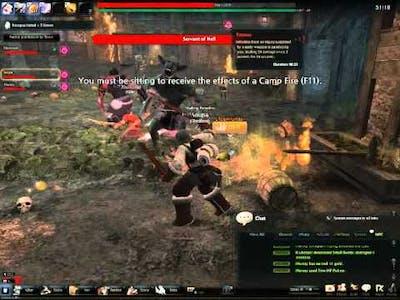 Vindictus The death of Cadet leader Ellis (AKA ELLIS NOOOOO T_T)
