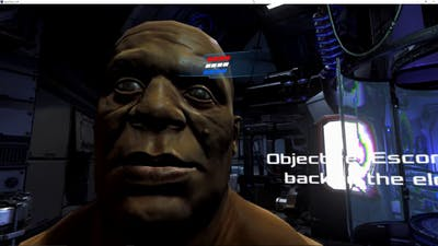 Dead Effect 2 VR HTC Vive Gameplay Test
