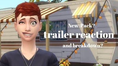 Sims 4 strangerville trailer recation and breakdown?!