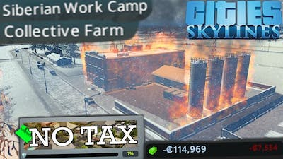 Building the Perfect Socialist Paradise with no Tax - Cities Skylines Industry Only Challenge