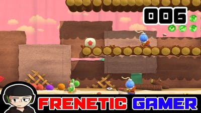 Yoshi's Woolly World Gameplay Walkthrough Level 1-6 Shy But Deadly (100% Complete)