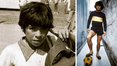 Before you lose hope, watch Diego Maradona's childhood story   Oh My Goal