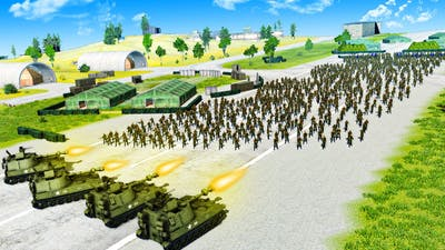 USA Attacks a Massive Russian Base to Win the Cold War in Men of War 2!